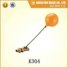 2 inch float valve with plastic/pvc ball brass valves model K304
