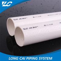 Heavy duty pvc-u full size favorable price 10mm pvc pipe