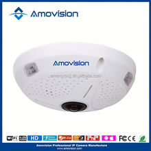 Virtualized Digital PTZ 360 Degree Panoramic Ceiling Camera HD 3.0MP Image Quality