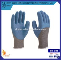 Dockers Protective Gloves With 10G T/C Shell Latex Coated
