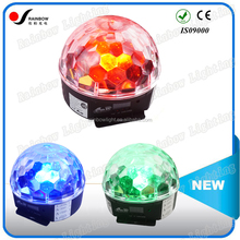 Good Design Pro RGBWYP 6PCS 3W LED Crystal Ball Ceiling Hanging Light