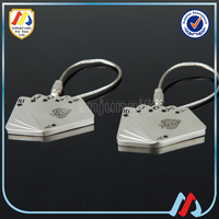 wholesale plating keychain cards