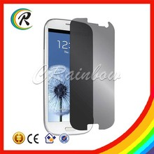 Good Price protector glass for samsung galaxy S3 mini privacy filter screen protector