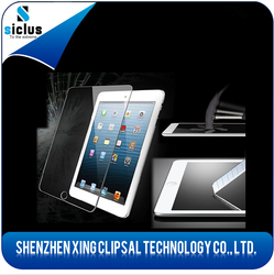 2015 New Products screen protector with design tempered Glass Screen Protector For Ipad air