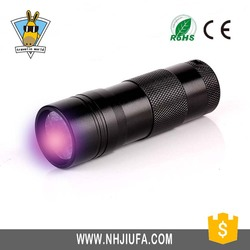JF Perfect design blacklight inspection uv 14 led flashlight