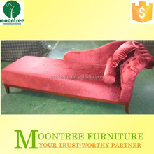 MSF-1137 Top Quality Hotel And Home Red Fabric Beauty Sofa