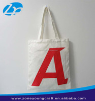 Wholesale cheap cotton shopping bag with logo printing