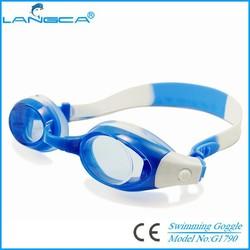 Hot selling silocone goggles swimming children size