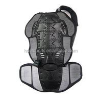 Motorcycle Bike Riding Back Armor Ski Back Support Protector Black
