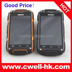 Rugged Smartphone Android 4.2 MTK6572 Dual Core 4.0 Inch IPS Screen Dual SIM Card 5.0MP Camera Discovery V8