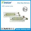 Vinstar waterproof energy saving 18 led license plate light for x3 x5