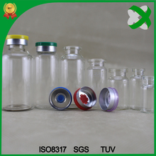 10ml clear medicine bottle with caps injection