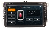 Strongly Recommended!!Car Radio for VW Passat with GPS Navigation Satellite Antenna Bluetooth
