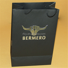 Recycled wine/tea Paper Bag ,kraft paper bags ,High Quality OEM Design Packaging bags with Your Own Logo