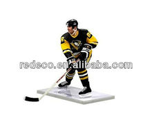 Hockey puck sports figurine for gift