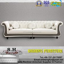 Antique Design Sofa Set Imported Leather Luxury Sofa Design Furniture A953