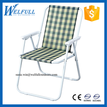 OEM Cheap Wholesale Beach Chairs Lightweight Folding Outdoor Reclining Chair