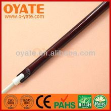 ruby coating halogen infrared heating lamps for saving energy