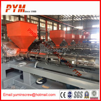 PET recycling machinery and plastic film recycling machine