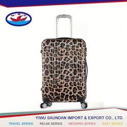 Latest Wholesale unique design high end luggage 2015