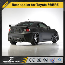 Carbon Fiber racing rear spoiler Wald Style for Toyota GT86/BRZ FT86