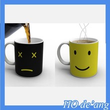 HOGIFT Creative ceramic mug/wake up Monday mug/color changing mug