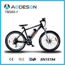 electric mountain bike TM265-1, Aodeson wholesale electric bikes