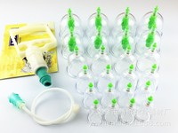 Chinese Medical Device Vacuum Cupping Set 12 Cups With Magnet Therapy