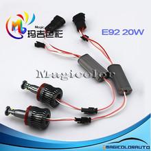 360-Degree 20W XP-E C REE High Power H8 LED Angel Eyes Ring Marker Bulbs for BMW 1 3 5 Series Z4 X5 X6