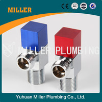 ML- 4021 Wholesale manufacturers new style two-way angle storm valve Best 90 Degree triangle valve Brass Angle Valve