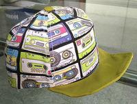 Fashion Poly cotton Baby Baseball Cap Five Panel Cartoon digital printing