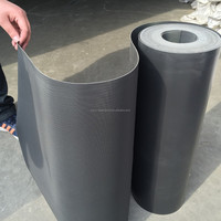 china good price reinforced self adhesive waterproofing pvc plastic sheet membrane