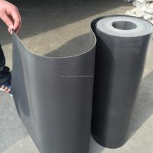 china good price reinforced self adhesive waterproofing pvc plastic sheet membrane