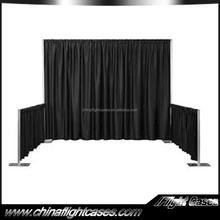 fashion exhibit booth design luxury fabric shower curtains