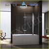 2 folding hinge bathtub shower screen/door EX-206