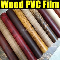 1.24*50m Grain PVC Wood Vinyl Film For Vinyl Flooring Application W1323