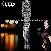 Romantic and luxury fashion french wire chandelier