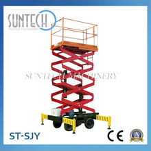 Fábrica st-sjy equipodemanejodemateriales hidráulica ascensores de tijera