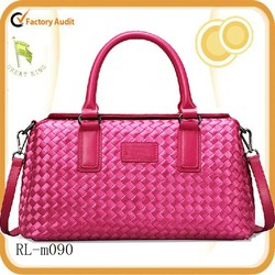 New arrival guangzhou wholesale fossil sheep leather bag for ladies