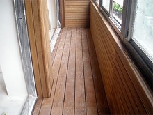 UV Resistant wooden composit patio decking Ecological WPC composite decking for pool or garden