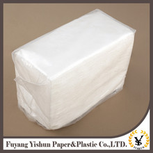 Professional Factory Supply tall fold recycle paper napkin