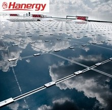 Hanergy 40kw solar equipment for home system on flat roof
