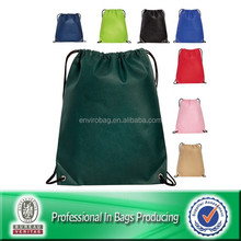 Custom Cheap Drawstring Color Life Backpack Bag
