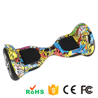 2015 New product 2 Wheel self balance scooter 1-2 hours charging time one wheel electric with led light