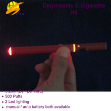 The factory direct selling e cigarette h6,disposable h6 in competitive price