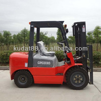 CPCD30 3tons Diesel Used Forklift with C240PKJ engine