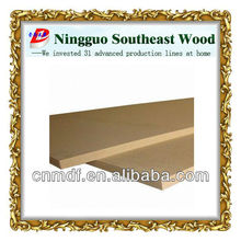 low price wood panel raw material mdf thickness