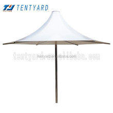 2015firmly PVC &stainless steel fixed 6 feet umbrella