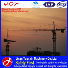 China crane manufacturer competitive price and high quality tower crane YX80-5610
