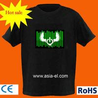 el light t-shirt for dance party,light up tshirt,lighting shirt